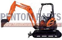 Kubota KX 91-3 Parts Online
