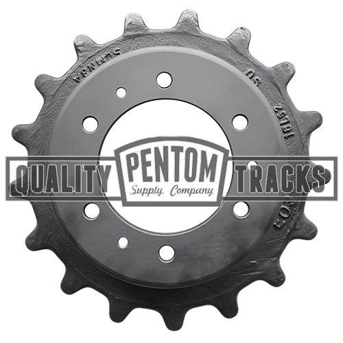 Part Number 6732901 Pentom Bobcat® CTL Rollers Original Style