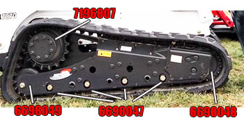 Bobcat T870 Parts