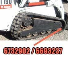 Bobcat Front Roller 6732902