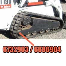 bobcat idler 6732903