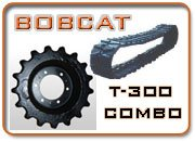 Complete Undercarriage Replacement for Bobcat T300 Compact Track Loader