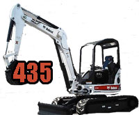 Bobcat 435 Mini Excavator Replacement Parts