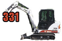Parts, Tracks - Bobcat 331 and x331 Parts