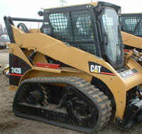 Rubber Tracks Cat 242 Skid Loader