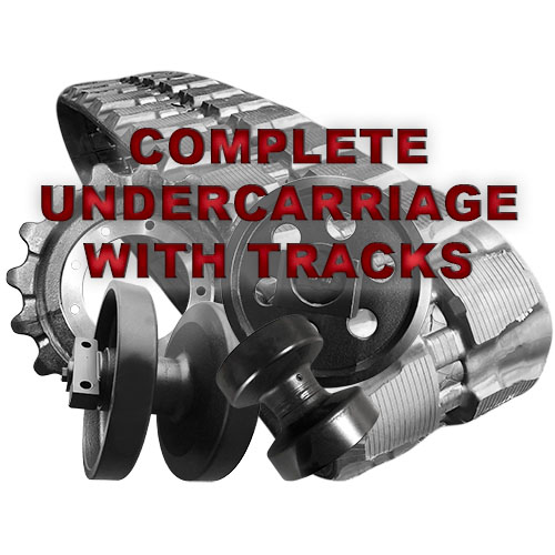 Complete Undercarriage Replacement for Bobcat 331 Series Mini Excavators